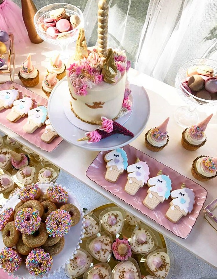 Magical Unicorn First Birthday Party - Birthday Party ...