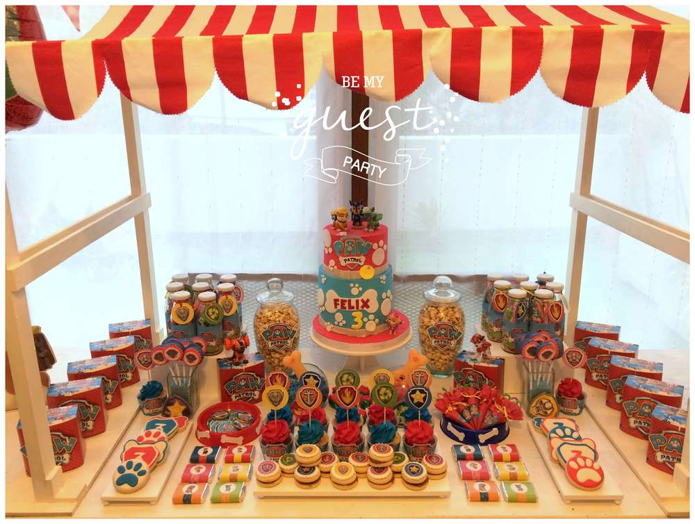 Image result for paw patrol birthday party ideas