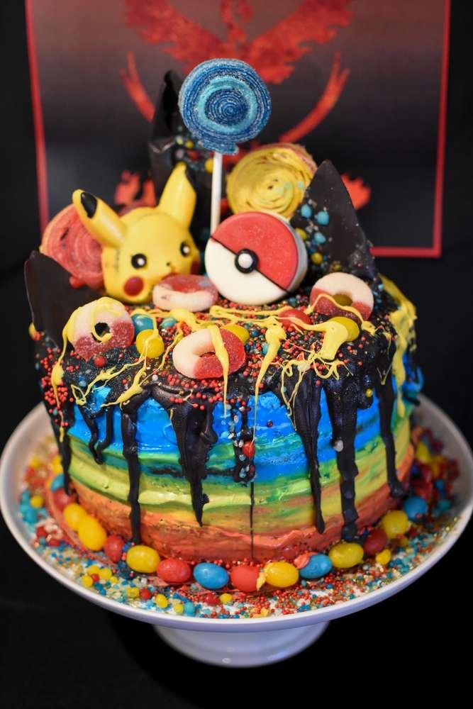 Pokemon Chocolate Cake