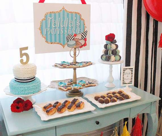 Posh-Parisian-Puppy-Party-Dessert-Table