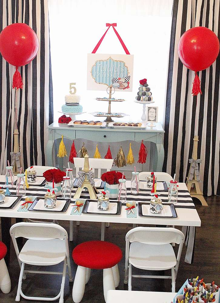 Posh Parisian Puppy Party Birthday Party Ideas Amp Themes