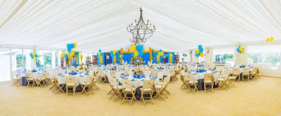 Blue-And-Yellow-Royal-Prince-Birthday-Venue