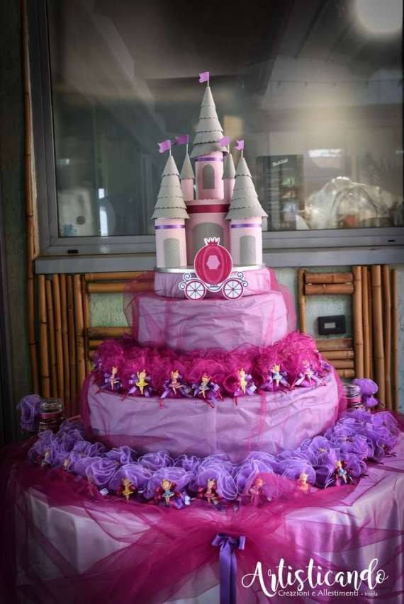 Magical-Pink-And-Purple-Twin-Celebration-Castle-Decoration