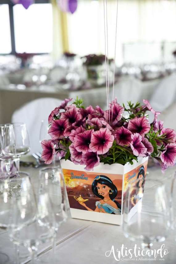 Magical-Pink-And-Purple-Twin-Celebration-Guest-Seating