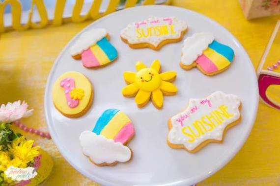 Whimsical-You-Are-My-Sunshine-Birthday-Cookies