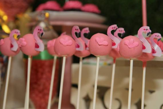 Tropical-Safari-Flamingo -Party-Cakepops