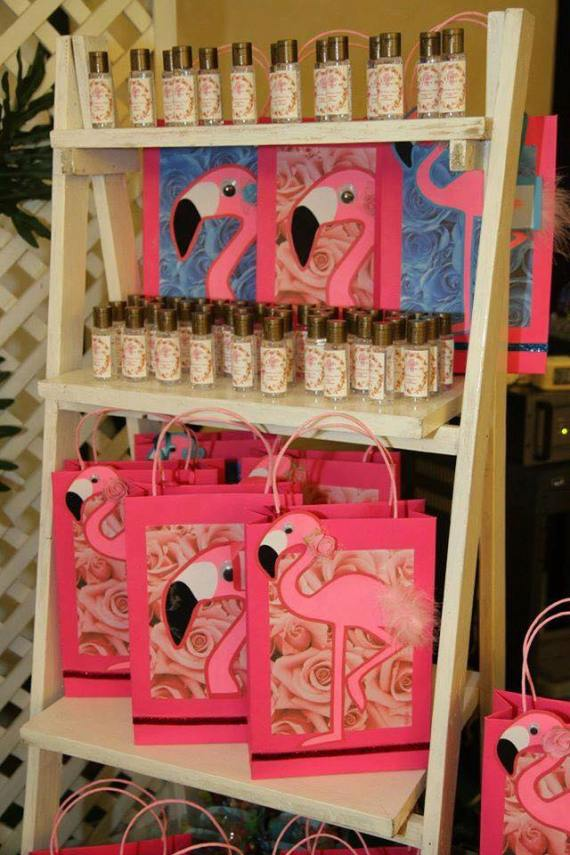 Tropical-Safari-Flamingo -Party-Gift-Bags