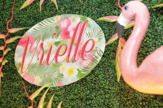 Tropical-Safari-Flamingo -Party-Personalized-Sign