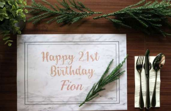 Whimsical-Marble-Birthday-Party-Place-Settings