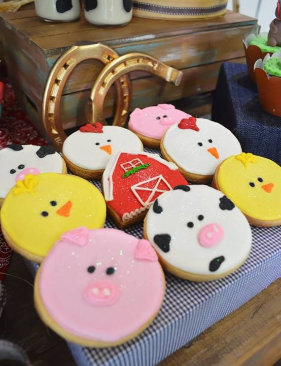 Farm-Adventure-Birthday-Party-Sugar-Cookies