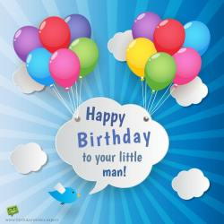 Radiant Sketchy Clouds Happy Birthday Boy Ny Happy Birthday Boy Images Birthday Wish A Balloons A Little Boy On Image