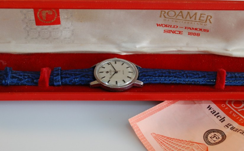 1969 Roamer Anfibio men's watch with box and papers