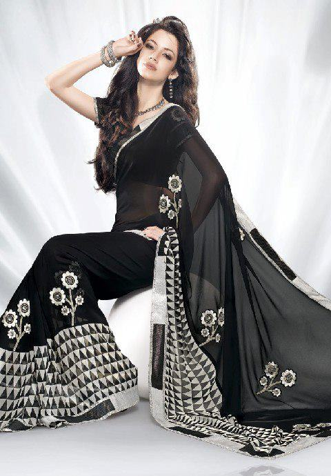 new stylish modern black dress