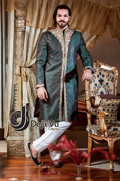 New Arabic Style Sherwani Dresses 2016
