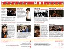 Tuesday Matinees Brochure, 2013