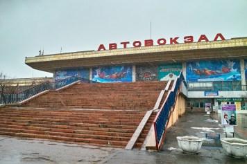 Avtovaksal - Bishkeks monumentaler Busbahnhof