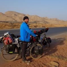 Flammende Berge in Xinjiang