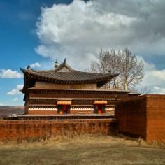 Ein alter Tempel