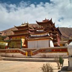Kloster in Tongren.