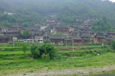 Ein Miao-Dorf