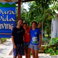 Die beste Tauchlehrerin der Welt: Mariana von Pura Vida!
