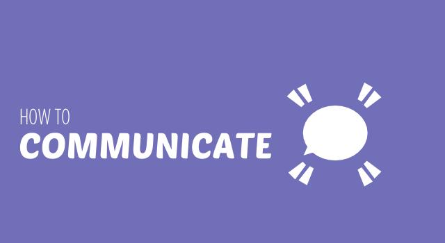 BISH HOW TO COMMUNICATE header