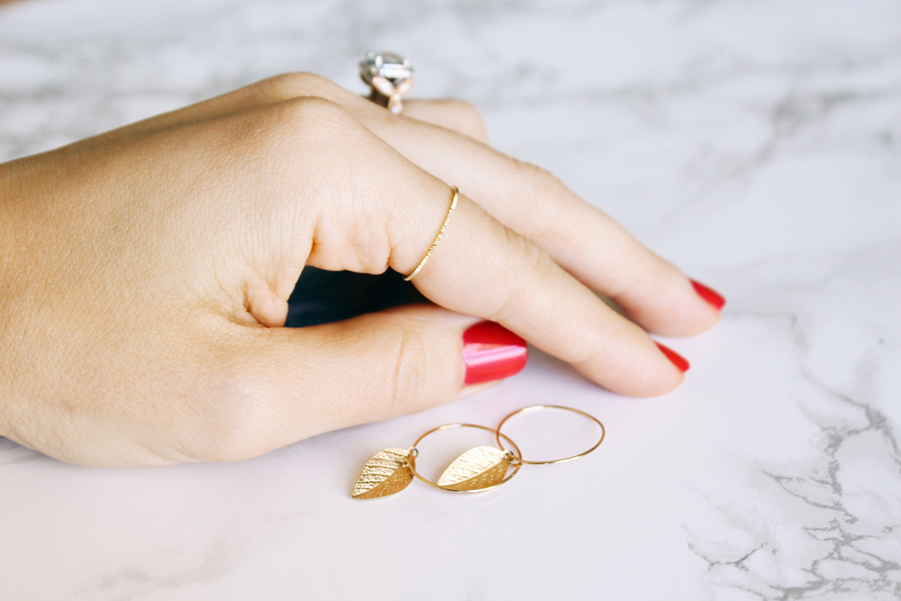 Avnis Gold-Filled Hoop Earrings | Bisou du Jour