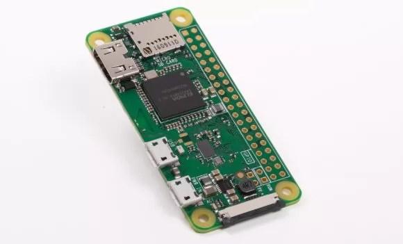 Raspberry Pi Zero W braucht relativ wenig Strom (Quelle: raspberrypi.org)