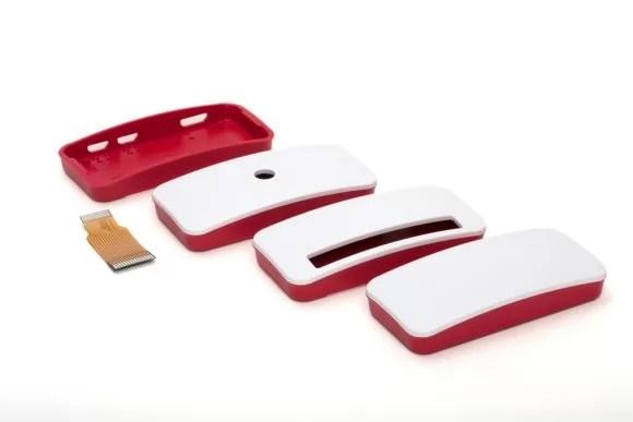 Gehäuse für den Raspberry Pi Zero W mit drei verschiedenen Deckeln (Quelle: raspberrypi.org)