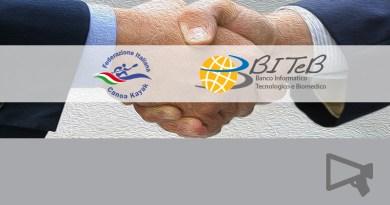 BITeB accordo con la Federazione Italiana Canoa Kayak