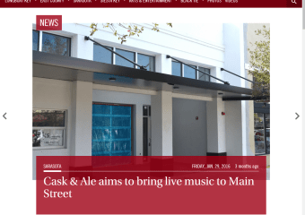 Cask & Ale aims to bring live music to Main Street