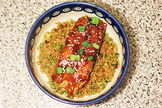 teriyaki salmon 6
