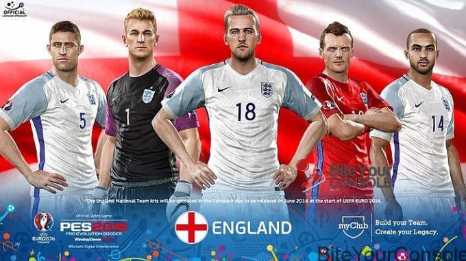 EURO 2016 PES England