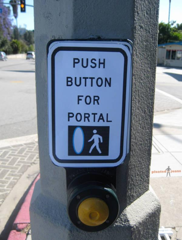 Portal prank