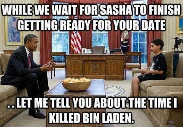 The time I killed bin laden