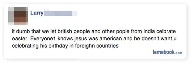 Jesus was American