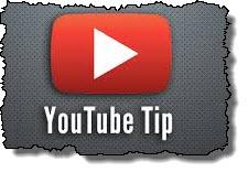 Youtube tip