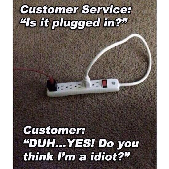 Is it plugged in