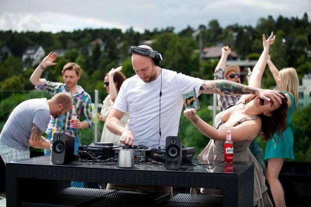 DJ interrupted
