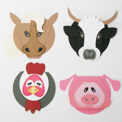 Animal Party Gift Tags