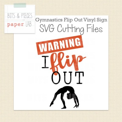 Gymnastics Vinyl Sign Cut Files