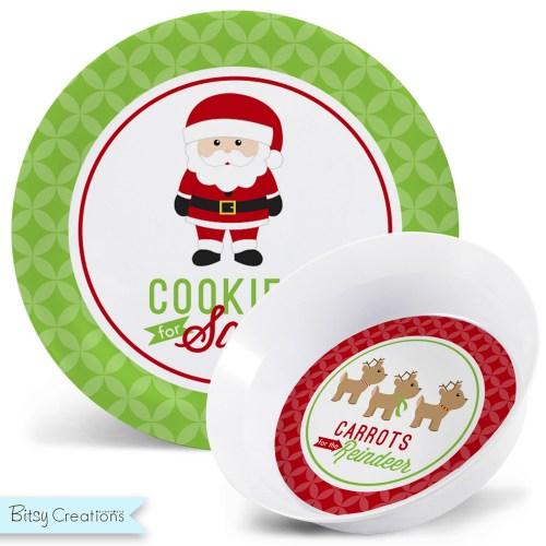 Medium Of Cookies For Santa Plate