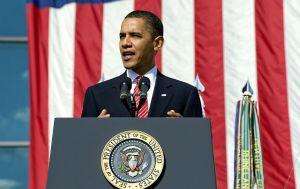 Barack with palms up