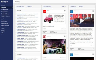 Facebook Introduces Signal: Discover Trends and Curate Content on Facebook and Instagram