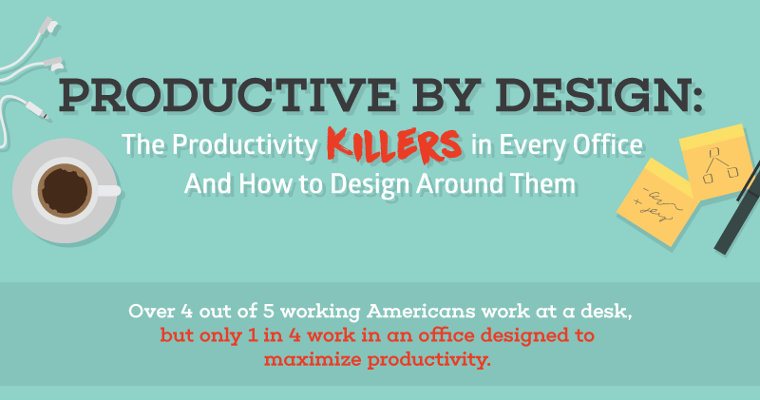 The Productivity Killers in Every Office and How to Design Around Them (Infographic)
