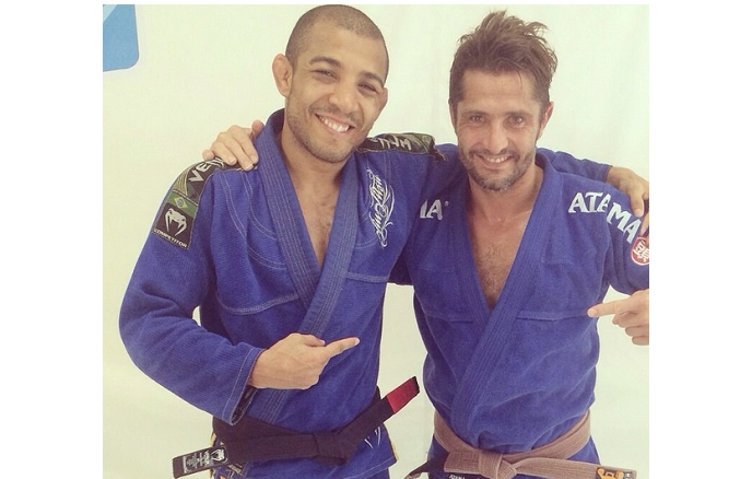 Bixente Lizarazu  1998 Football World Champ  Trains w  Jose Aldo Bixente Lizarazu  1998 Football World Champ  Trains w  Jose Aldo