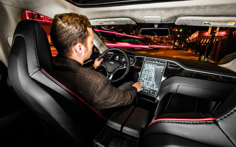 le test de la tesla model s en tant que passager uber. Black Bedroom Furniture Sets. Home Design Ideas