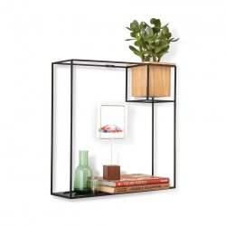 Exquisite Cubist Floating Display Shelf Large Umbra Cubist Floating Display Shelf Large Black By Design Large Display Shelves