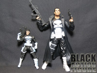 Marvel Universe Punisher and Marvel Legends Punisher