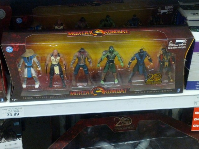 Mortal Kombat Multipack at Toys R Us
